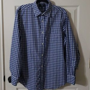 banana republic  no iron button down size l